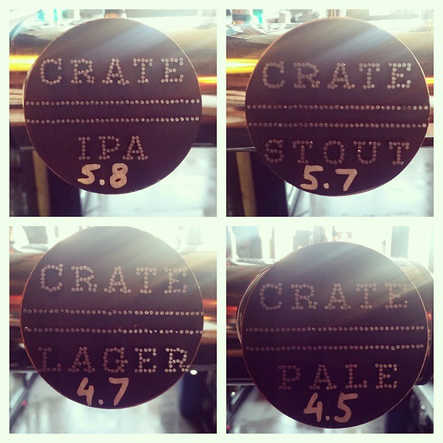 Keg takeover! @cratebrewing #craftbeer #ukcraft #beerporn