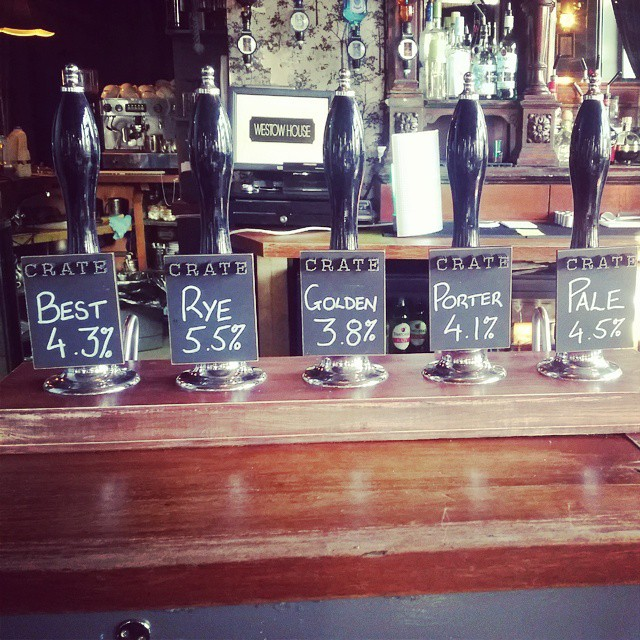 Tap takeover day!  @cratebrewing #craftbeer #ukcraft #beerporn