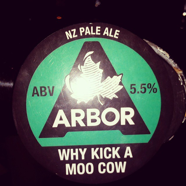 What a name from arbor! #craftbeer #ukcraft
