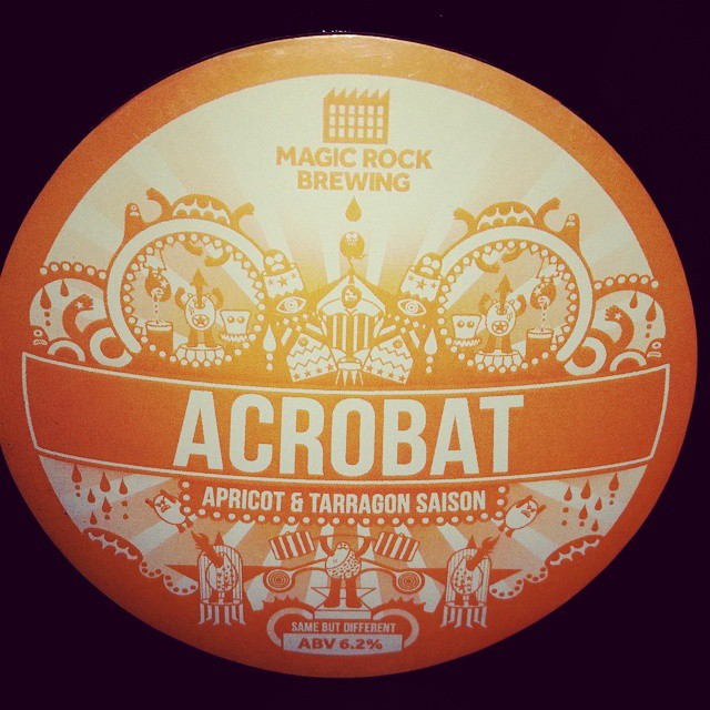 Excitement levels at an all time high now this is on from @magicrockbrewing #craftbeer #ukcraft #crystalpalace