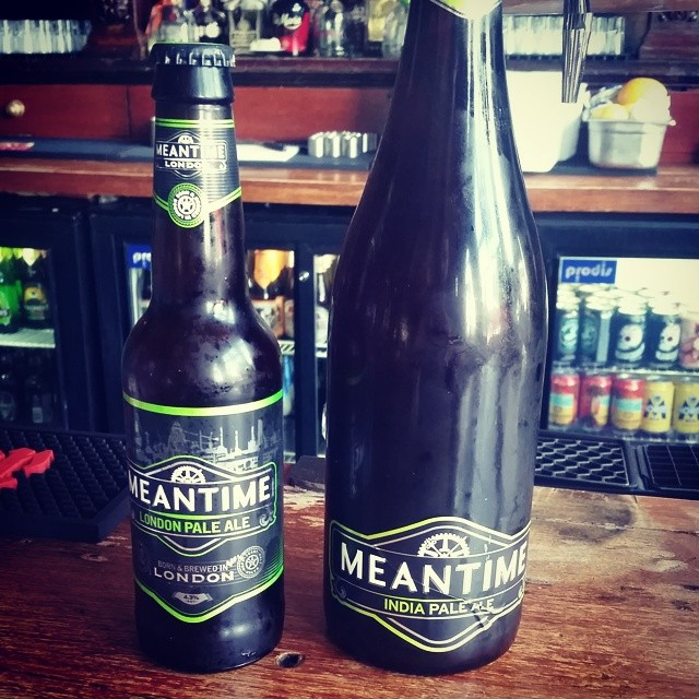 Baby meantime and daddy meantime! #craftbeer #ukcraft #beerporn @meantimebrewing