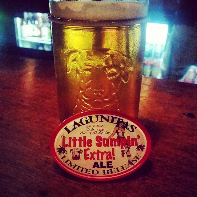 It's finally  @lagunitasbeer little sumpin extra time #uscraft #beerporn #craftbeer